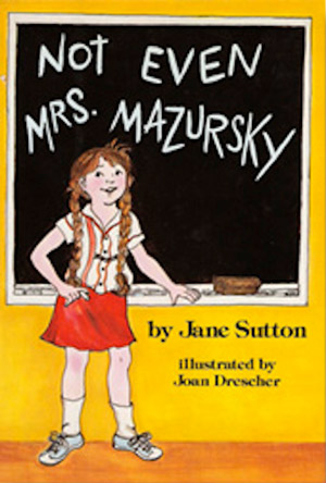 Not Even Mrs Mazursky bu Jane Sutton